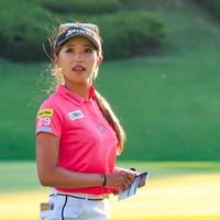 臼井麗香が初の首位発進を決めた 2021年 スタンレーレディスゴルフトーナメント 初日 臼井麗香