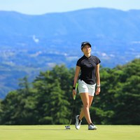 Hole2のグリーンも見晴らしよし 2021年 スタンレーレディスゴルフトーナメント 初日 脇元華