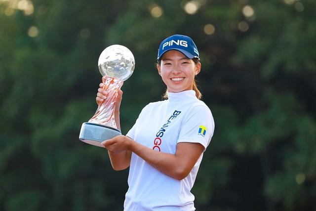2021年 スタンレーレディスゴルフトーナメント 4日目 渋野日向子 渋野日向子が1年11カ月ぶりにツアー5勝目を挙げた