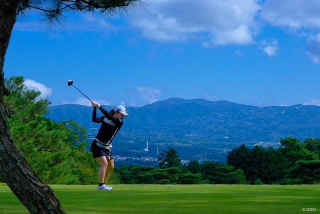 2021年 スタンレーレディスゴルフトーナメント 最終日 古江彩佳 トップの瞬間