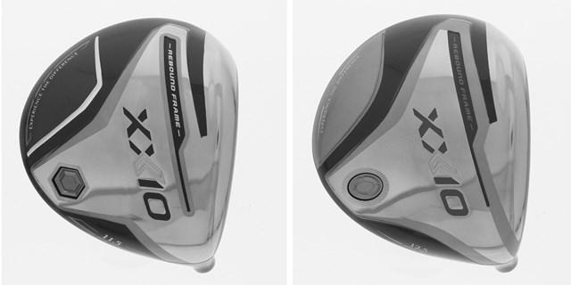 2021年 R&A適合ドライバーヘッドリスト画像 12代目「ゼクシオ」とみられる「Type 1」(左)。右はレディスモデル(USGA)