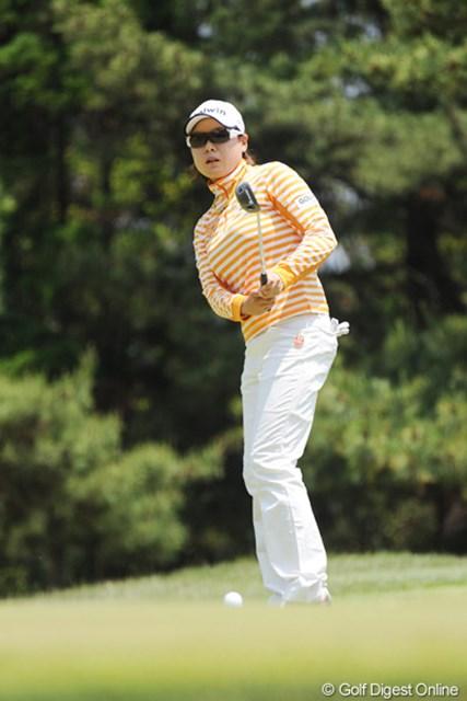 2010年 サントリーレディスオープンゴルフトーナメント 3日目 ペ・ジェヒ ペーちゃん久しぶりやん!サングラスでイメチェン?21位T
