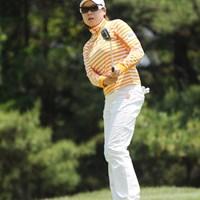 ペーちゃん久しぶりやん!サングラスでイメチェン?21位T 2010年 サントリーレディスオープンゴルフトーナメント 3日目 ペ・ジェヒ