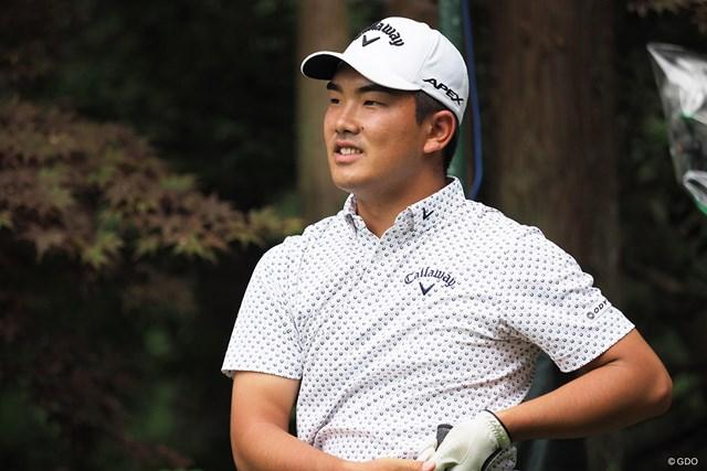 2021年 日本オープンゴルフ選手権競技  事前 河本力 昨年大会では悔しい思いも味わった河本力