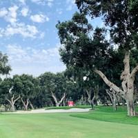 レアル・クラブ・バルデラマにはたくさんの木々が 2021年 エストレージャダムN.A.アンダルシア マスターズ 事前 レアル・クラブ・バルデラマ