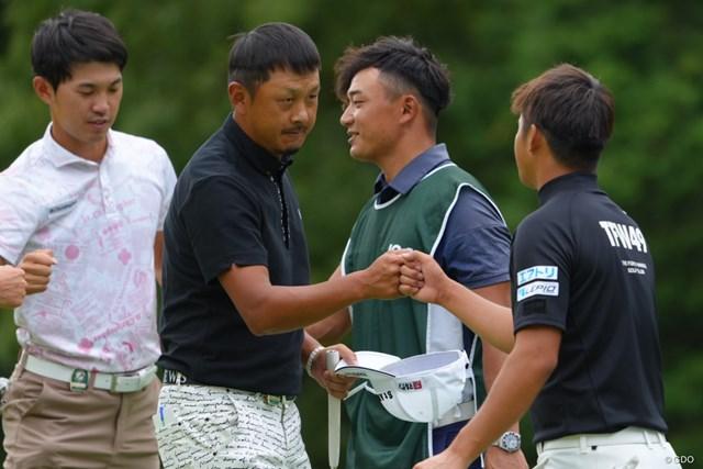 2021年 日本オープンゴルフ選手権競技 初日 岩田寛 パー71での大会新記録「63」をマークした岩田寛