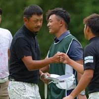 パー71での大会新記録「63」をマークした岩田寛 2021年 日本オープンゴルフ選手権競技 初日 岩田寛