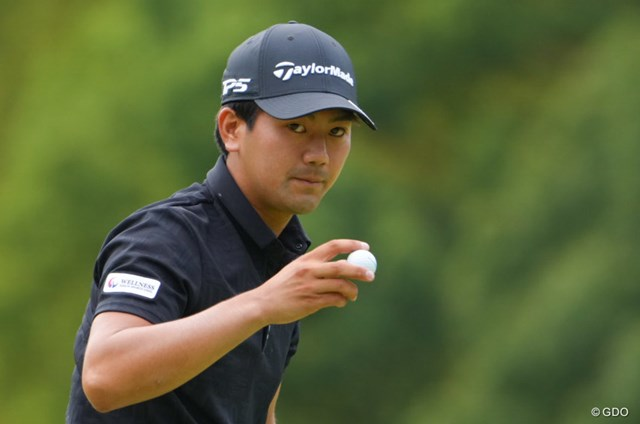 2021年 日本オープンゴルフ選手権競技 初日 石坂友宏 初日2位の好スタートを切った石坂友宏
