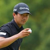 初日2位の好スタートを切った石坂友宏 2021年 日本オープンゴルフ選手権競技 初日 石坂友宏
