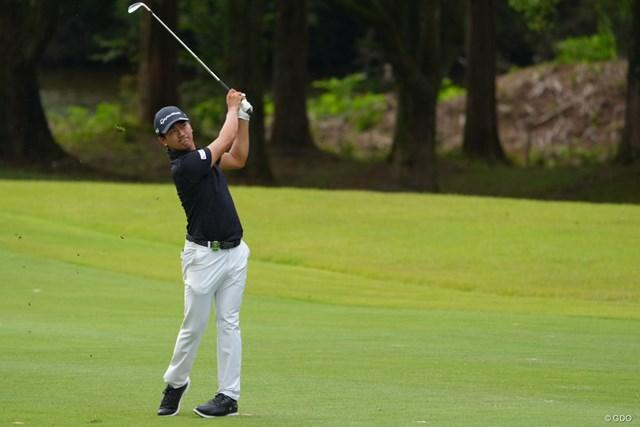 2021年 日本オープンゴルフ選手権競技 初日 石坂友宏 痛めた腰も回復してきた
