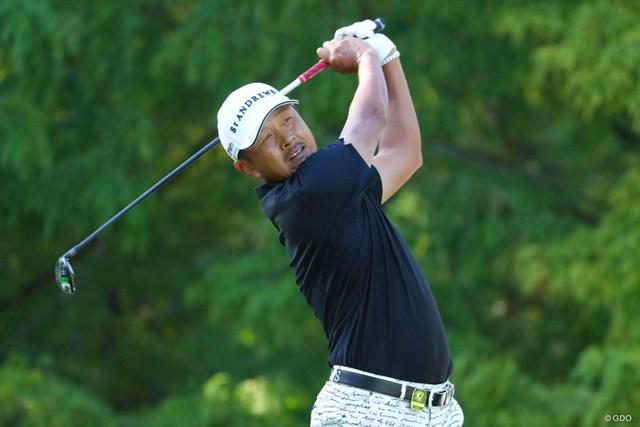 2021年 日本オープンゴルフ選手権競技 初日 岩田寛 岩田寛が8アンダー「63」をマークして発進した
