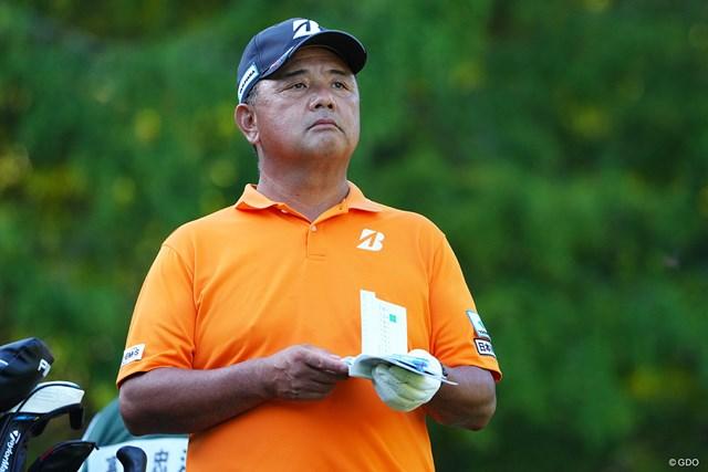 2021年 日本オープンゴルフ選手権競技 初日 寺西明 日本オープンは初出場なんですね。感慨深いだろうなぁ。46位タイスタートです。