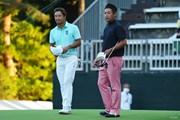 2021年 日本オープンゴルフ選手権競技 初日 小平智 池田勇太