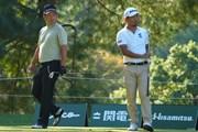 2021年 日本オープンゴルフ選手権競技 2日目 池田勇太と小平智