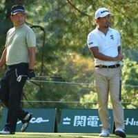 日本オープンで何度も優勝争いをしてきた二人 2021年 日本オープンゴルフ選手権競技 2日目 池田勇太と小平智
