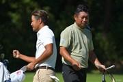 2021年 日本オープンゴルフ選手権競技 2日目 小平智 池田勇太