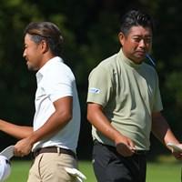 週末も楽しませてくれそうな2人です。 2021年 日本オープンゴルフ選手権競技 2日目 小平智 池田勇太