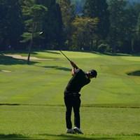 アイアンで刻むか、ドライバーで1オン狙いか。 2021年 日本オープンゴルフ選手権競技 3日目 6番