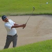 16番は2オンならず。 2021年 日本オープンゴルフ選手権競技 3日目 岩田寛