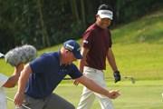 2021年 日本オープンゴルフ選手権競技 3日目 ショーン・ノリス 池田勇太