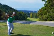 2021年 日本オープンゴルフ選手権競技 3日目 8番ティ