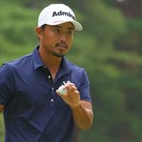 5打差2位から逆転を目指す小平智 2021年 日本オープンゴルフ選手権競技  3日目 小平智