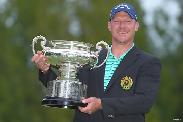 2021年 日本オープンゴルフ選手権競技 最終日 ショーン・ノリス 圧勝したショーン・ノリス