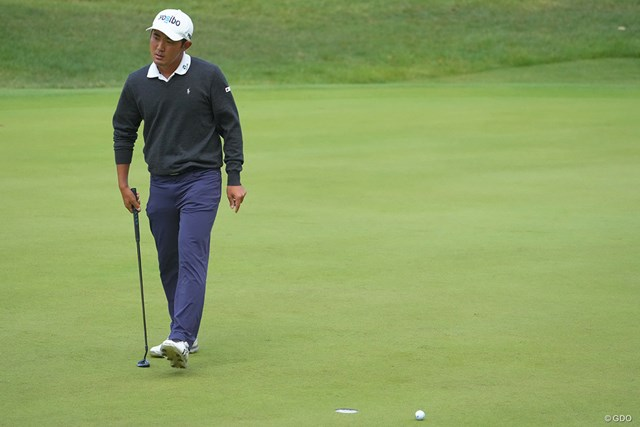 2021年 日本オープンゴルフ選手権競技 最終日 金谷拓実 最終日もカップに嫌われた。