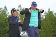 2021年 日本オープンゴルフ選手権競技 最終日 稲森佑貴 ショーン・ノリス