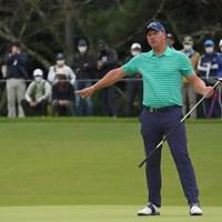 なかなかバーディが来なかった。 2021年 日本オープンゴルフ選手権競技 最終日 ショーン・ノリス