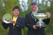 2021年 日本オープンゴルフ選手権競技 最終日 米澤蓮 ショーン・ノリス
