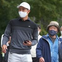 自分のラウンドが終わるとすぐさま金谷くんの組のギャラリーに。感心するわぁ。 2021年 日本オープンゴルフ選手権競技 最終日 中島啓太