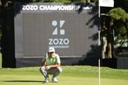 2022年 ZOZOチャンピオンシップ 事前 ザンダー・シャウフェレ