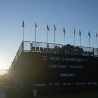 スタンド 2022年 ZOZOチャンピオンシップ 最終日 ZOZO