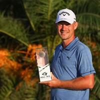ツアー初勝利を挙げたジェフ・ウィンザー(Andrew Redington/Getty Images) 2021年 マヨルカゴルフ・オープン  最終日 ジェフ・ウィンザー