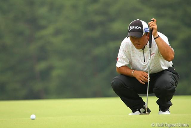 2000年の全英オープン出場以来、実に10年ぶりの出場チャンスが巡ってきた細川和彦