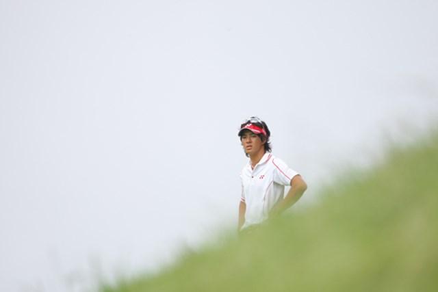 最終日、スコアを伸ばせなかった石川遼はちょっぴり渋い顔