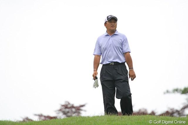 細川和彦も全英出場を逃した一人。最終日の18番で痛恨のOB