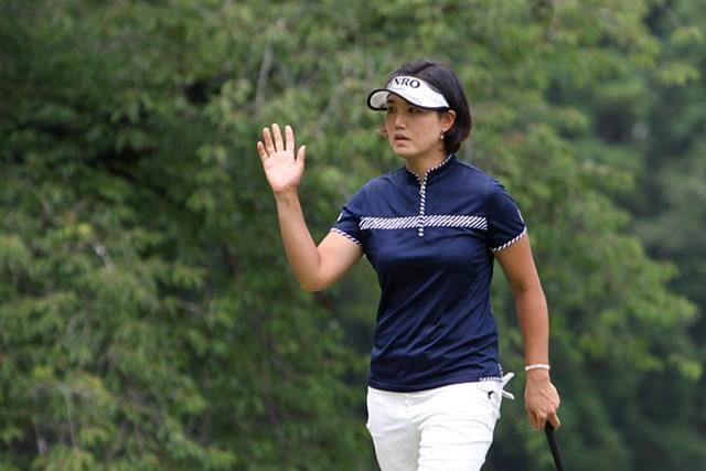 日医工女子オープンゴルフトーナメント事前 全美貞 今季2勝目一番乗りの全美貞。今大会で一気に波に乗るか