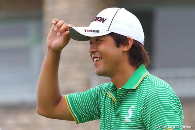 イーグルもあればダボもある!持ち前のゴルフが発揮され予選カットライン上で2ラウンドを終えた額賀辰徳