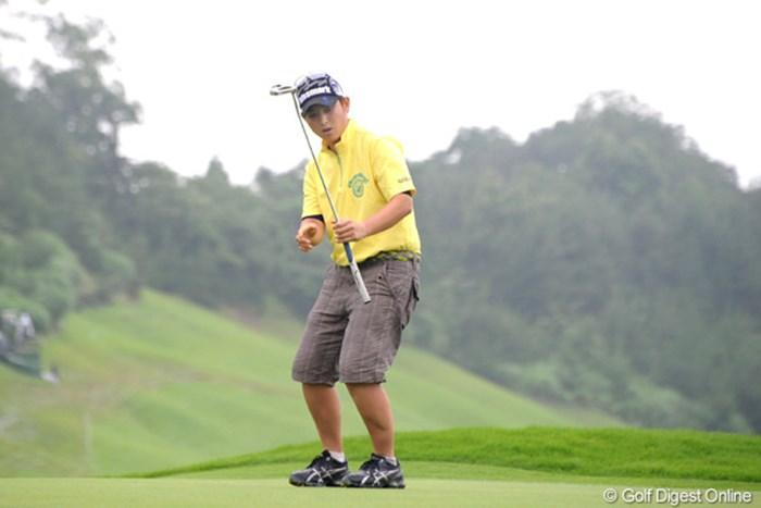4年ぶりの優勝は逃したが、獲得賞金は1700万円を越え、シード復帰に大きく前進した 2010年 日医工女子オープンゴルフトーナメント 最終日 天沼知恵子