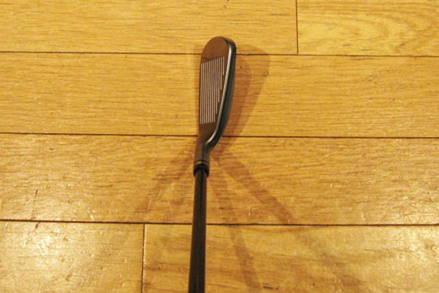 打球音が改善!2代目「プロギア eggスプーン」 NO.6 構えてみると、安心感のある軟鉄鍛造アイアン