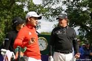 2010年 バークレイズ・スコットランドオープン 初日 石川遼、P.ミケルソン、C.ビジェガス