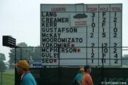 2010年 全米女子オープン 2日目 雷雨中断