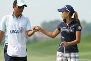 2010年 全米女子オープン 2日目 上田桃子