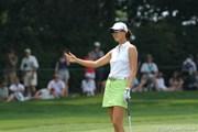 2010年 全米女子オープン 2日目 ミッシェル・ウィ