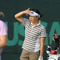 世界の壁の高さを思い知った2日間。通算22オーバーでフィニッシュ/田辺安啓(JJ) 2010年 全米女子オープン 2日目 上野藍子