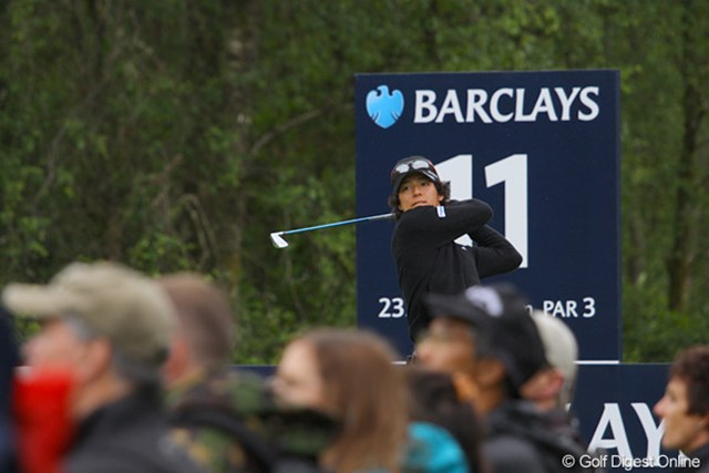 2010年 バークレイズ スコットランドオープン 3日目 石川遼 石川組にも多くのギャラリーが付いて回った