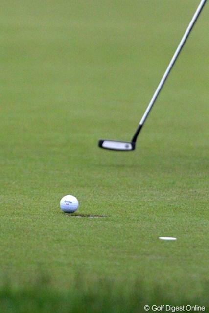 2010年 バークレイズ スコットランドオープン 3日目 石川遼 今週はパットに苦しみ続けている石川遼