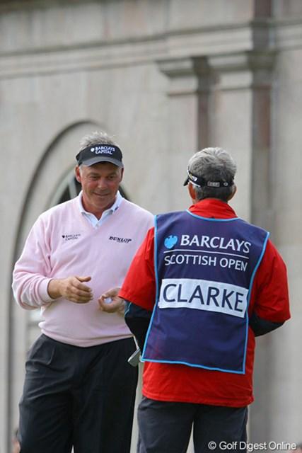 2位となったが、次週の全英オープン出場権をぎりぎりで獲得したダレン・クラーク